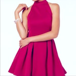 Crystal Doll Berry Skater Dress